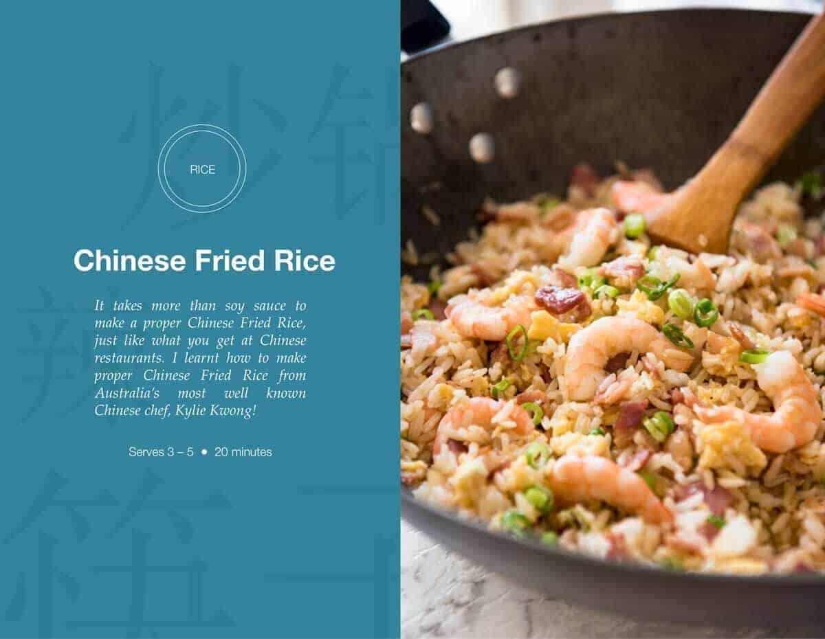 Chinese Fried Rice   Free Asian Takeout eCookbook   www.recipetineats.com