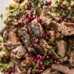Slow Cooked Lamb Shawarma is meltingly tender and has the most heavenly fragrance. Quick to prepare, sensational for gatherings! www.recipetineats.com