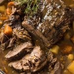 The ultimate one pot family meal - Slow Cooker Beef Pot Roast! www.recipetineats.com