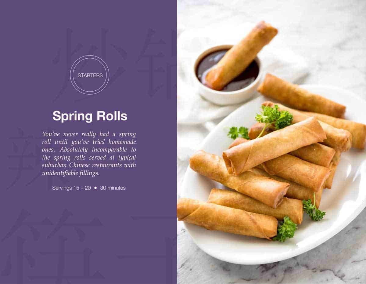 Spring Rolls | Free Asian Takeout eCookbook | www.recipetineats.com