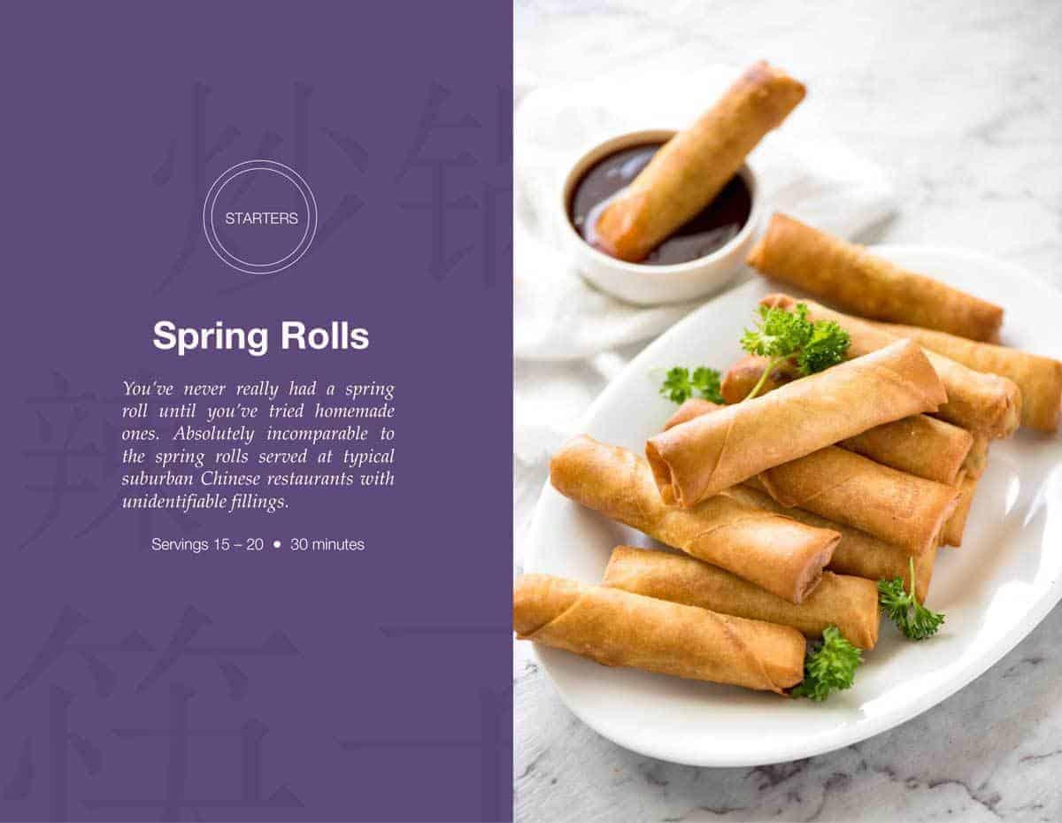 Spring Rolls   Free Asian Takeout eCookbook   www.recipetineats.com