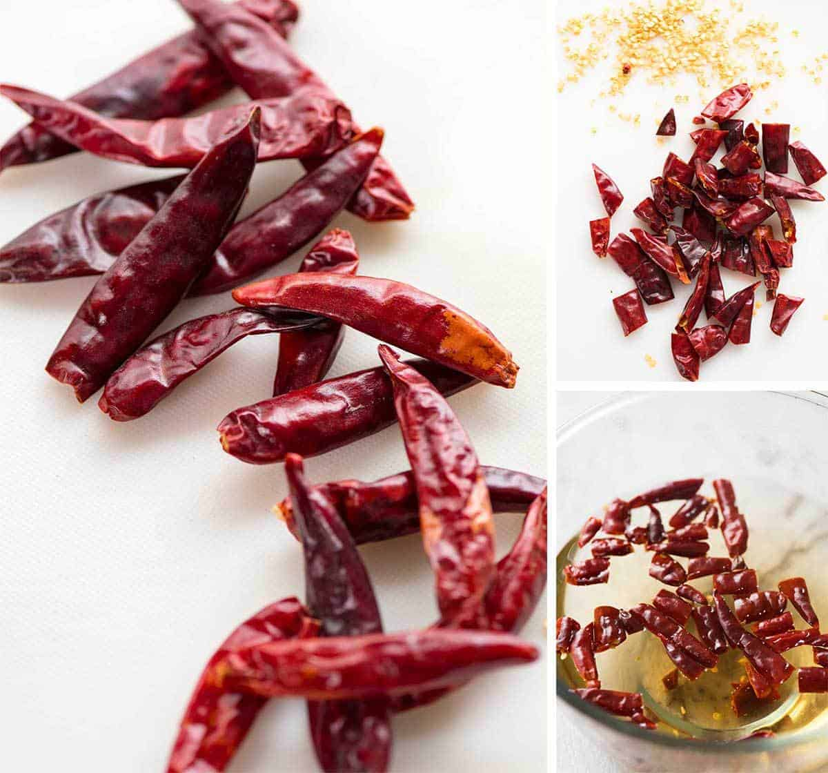 A key ingredient in Thai Red Curry Paste - dried red chillies.