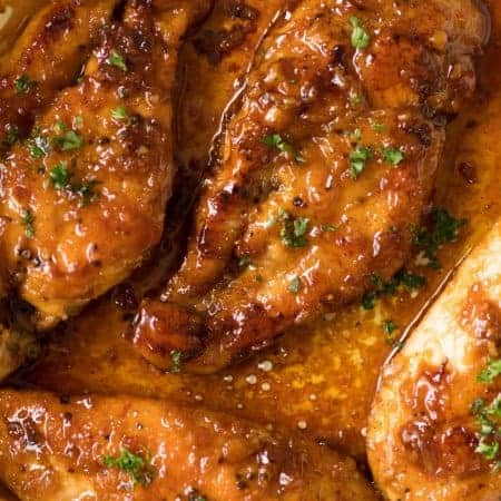 All you need is honey, butter, vinegar, soy sauce and garlic to make the sauce for this incredible Honey Garlic Chicken! www.recipetineats.com
