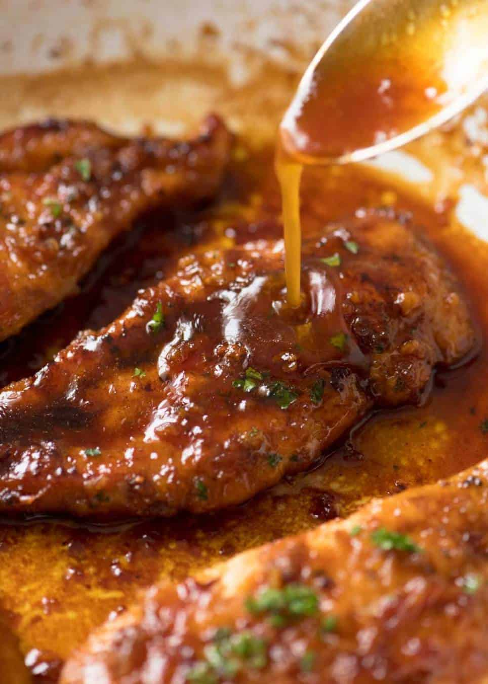 how to clean chicken with vinegar