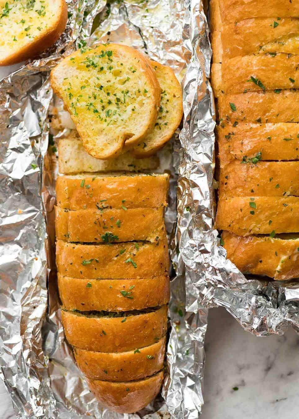 Better Than Dominos Garlic Bread Recipetin Eats