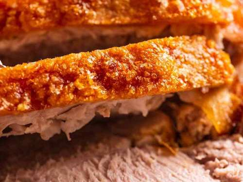 Pork Roast With Crispy Crackling Recipetin Eats
