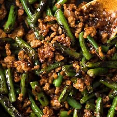 Pork Stir Fry with Green Beans