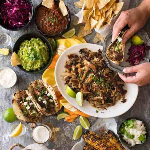 A Big Mexican Fiesta That S Easy To Make Recipetin Eats