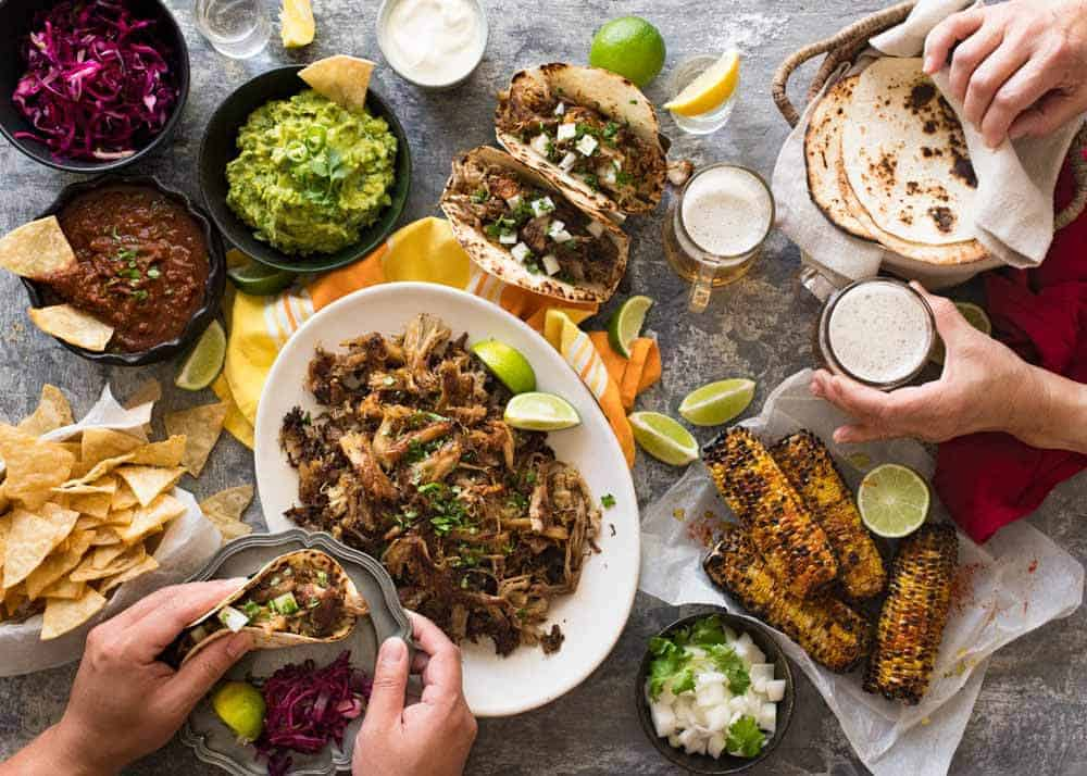 A Big Mexican Fiesta That's Easy to Make | RecipeTin Eats