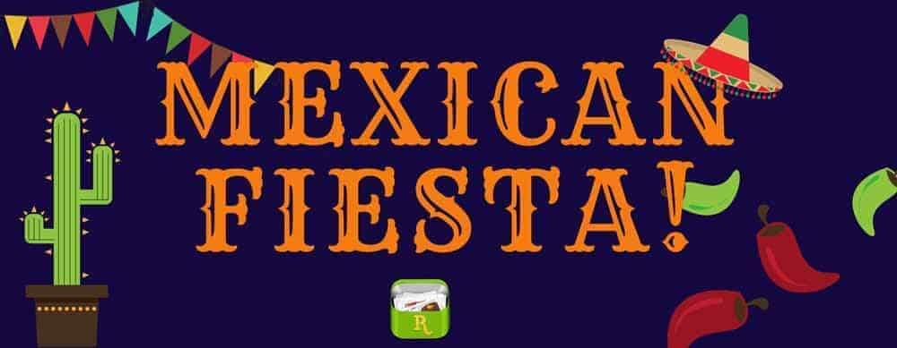 Mexican Fiesta menu plan