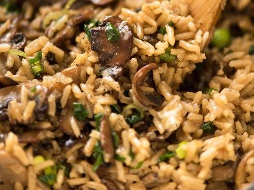 Mushroom Rice Recipetin Eats