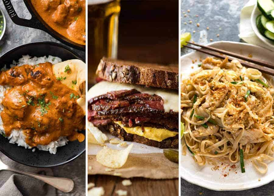 Recent Reader Favourite Recipes - Tikka Masala, Pastrami, Pad Thai