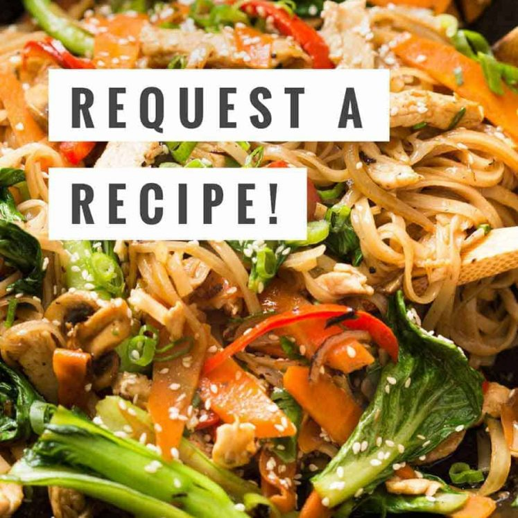 Request a recipe - RecipeTin Eats