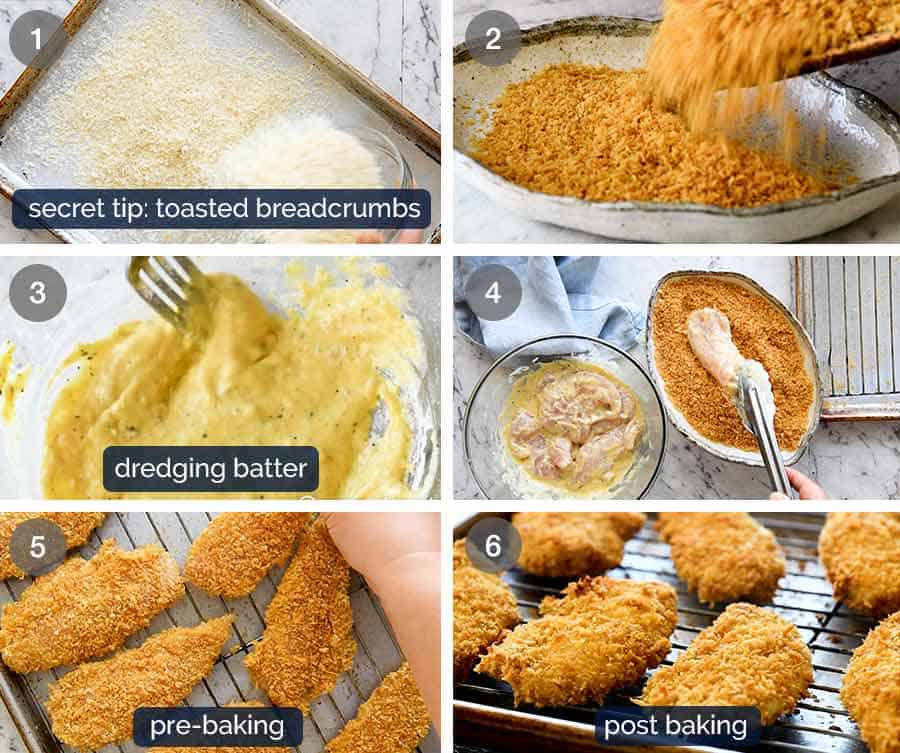Truly Crispy Oven Baked Chicken Tenders | RecipeTin Eats