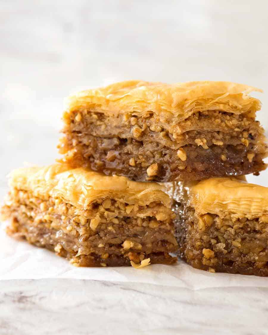 Baklava Recipetin Eats