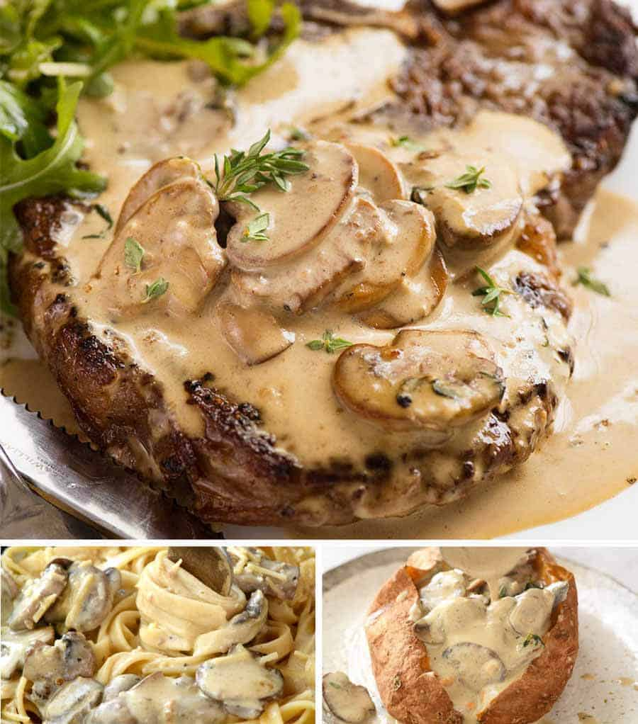 A Mushroom Sauce For Everything Recipetin Eats