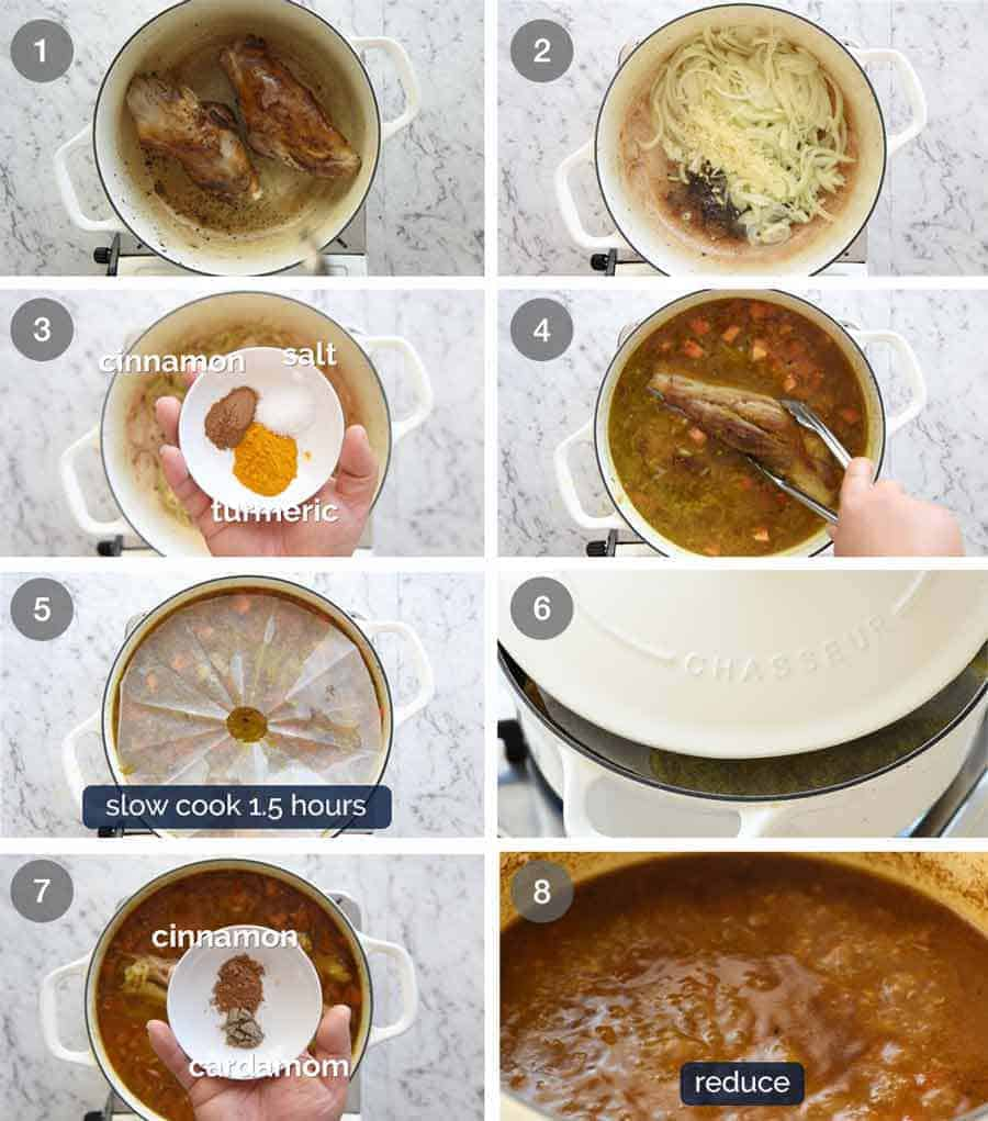 How to make Persian Lamb Shanks