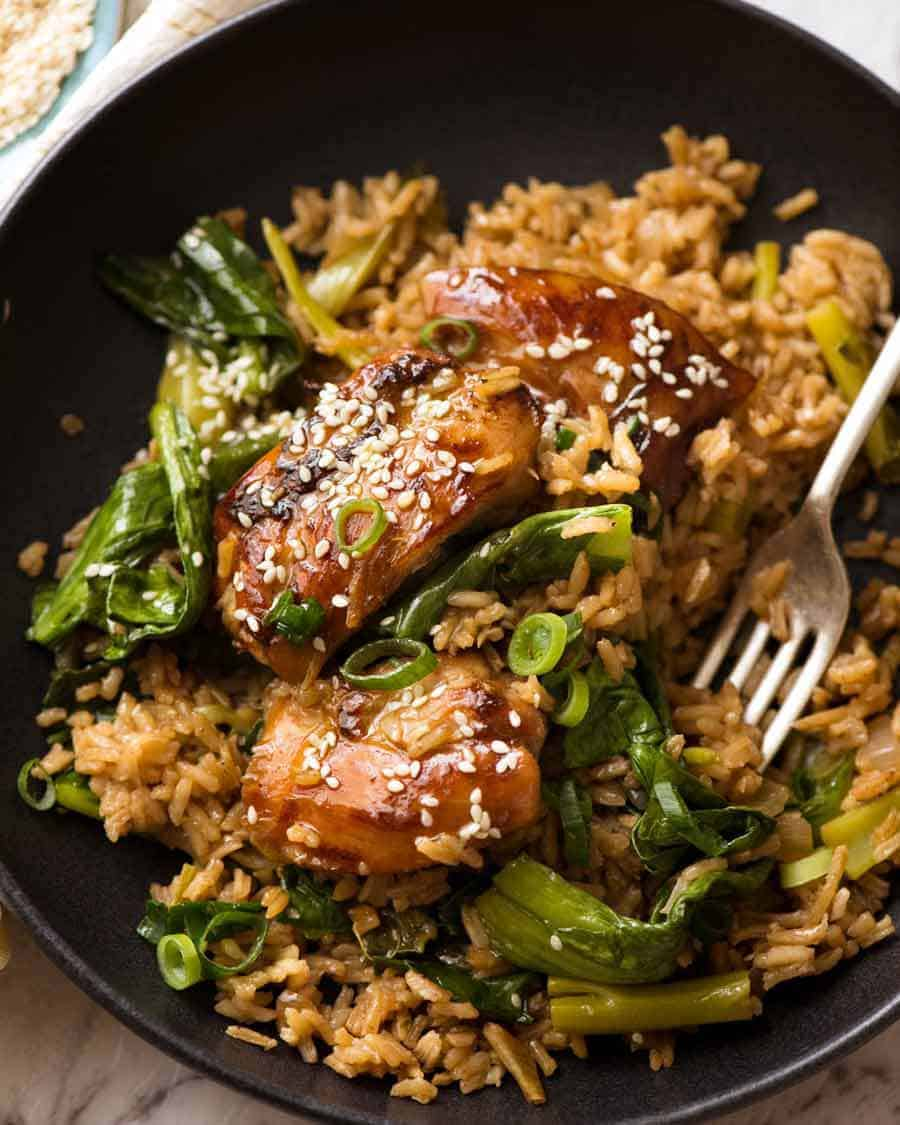 One Pot Chinese Chicken And Rice Recipetin Eats