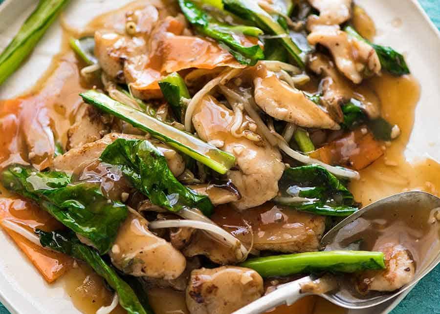 Chop Suey Chicken Stir Fry Recipetin Eats