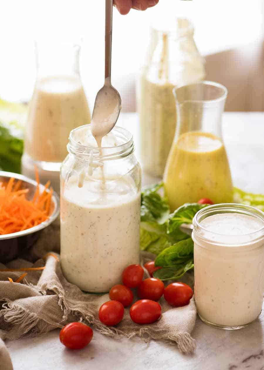 Photo of 5 Healthier Yogurt Salad Dressings