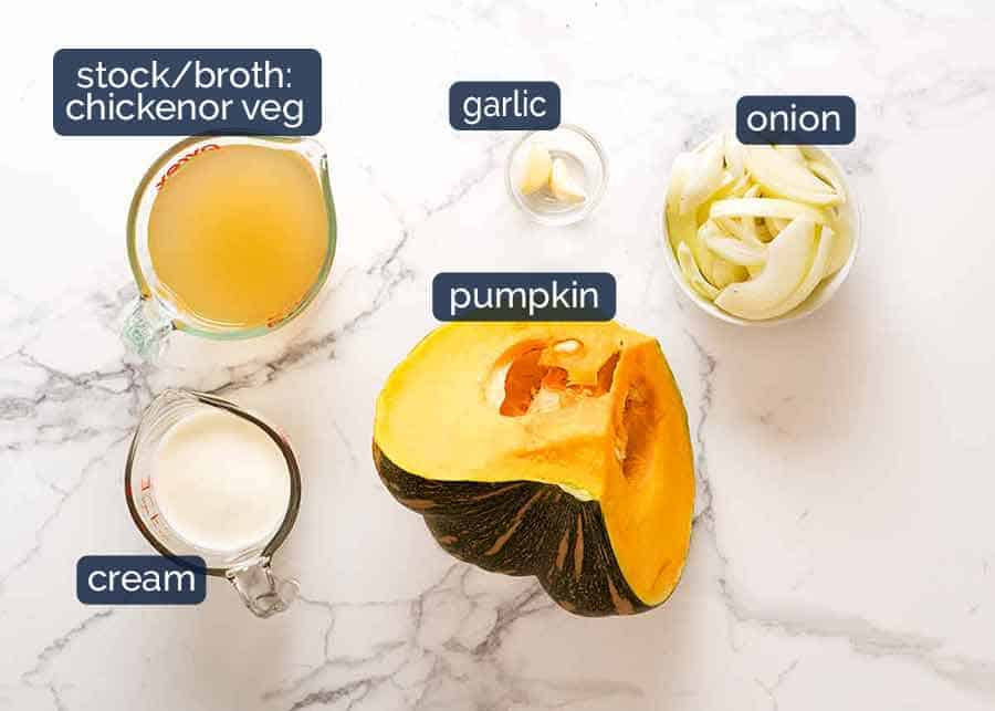What goes in pumpkin soup