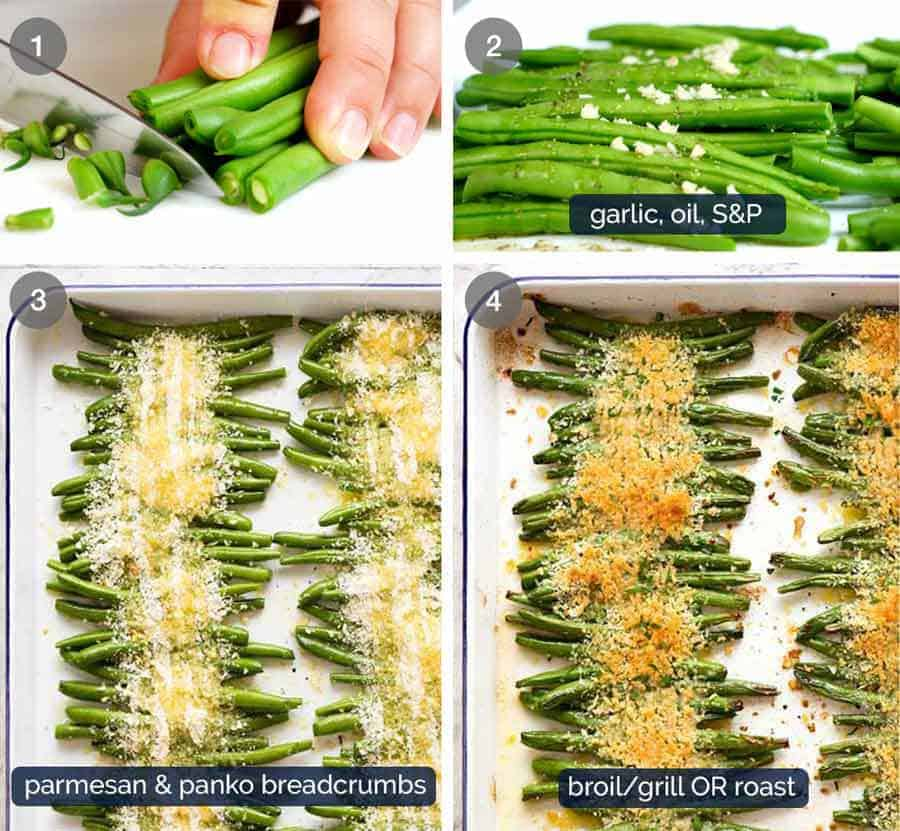 How to make Parmesan Roasted Green Beans