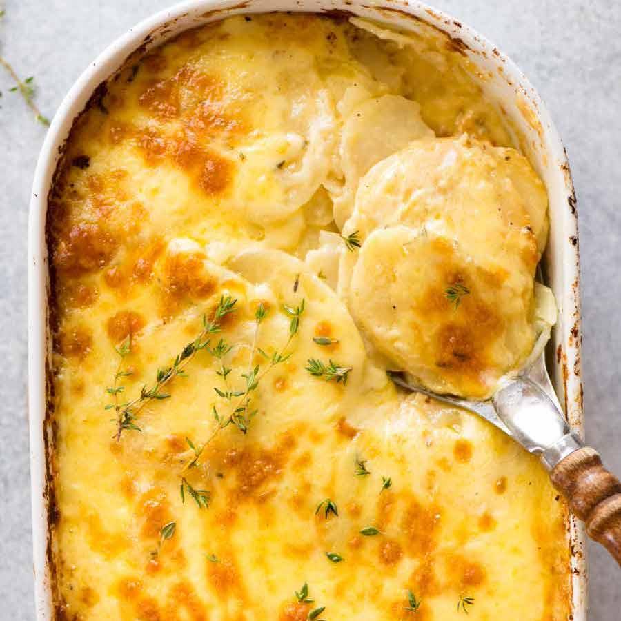 Potatoes Au Gratin Dauphinoise Recipetin Eats