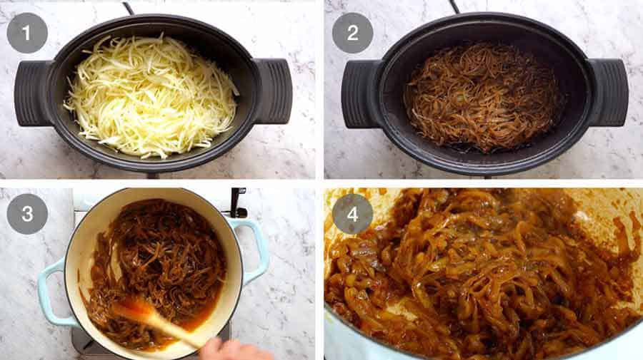 How to make Slow Cooker Caramelised Onions