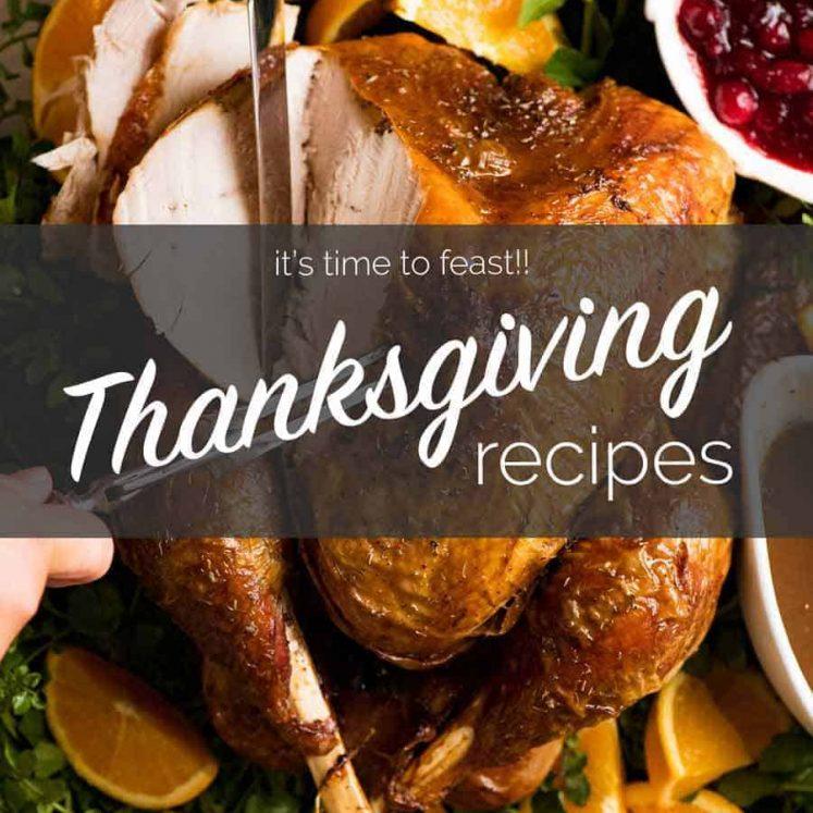 Thanksgiving recipes on RecipeTin Eats