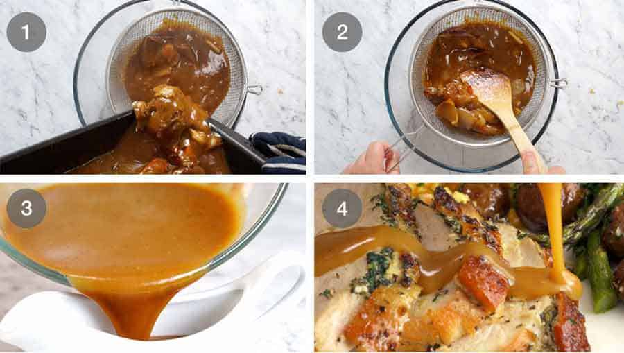 How to make Turkey Gravy - for Roasted Turkey