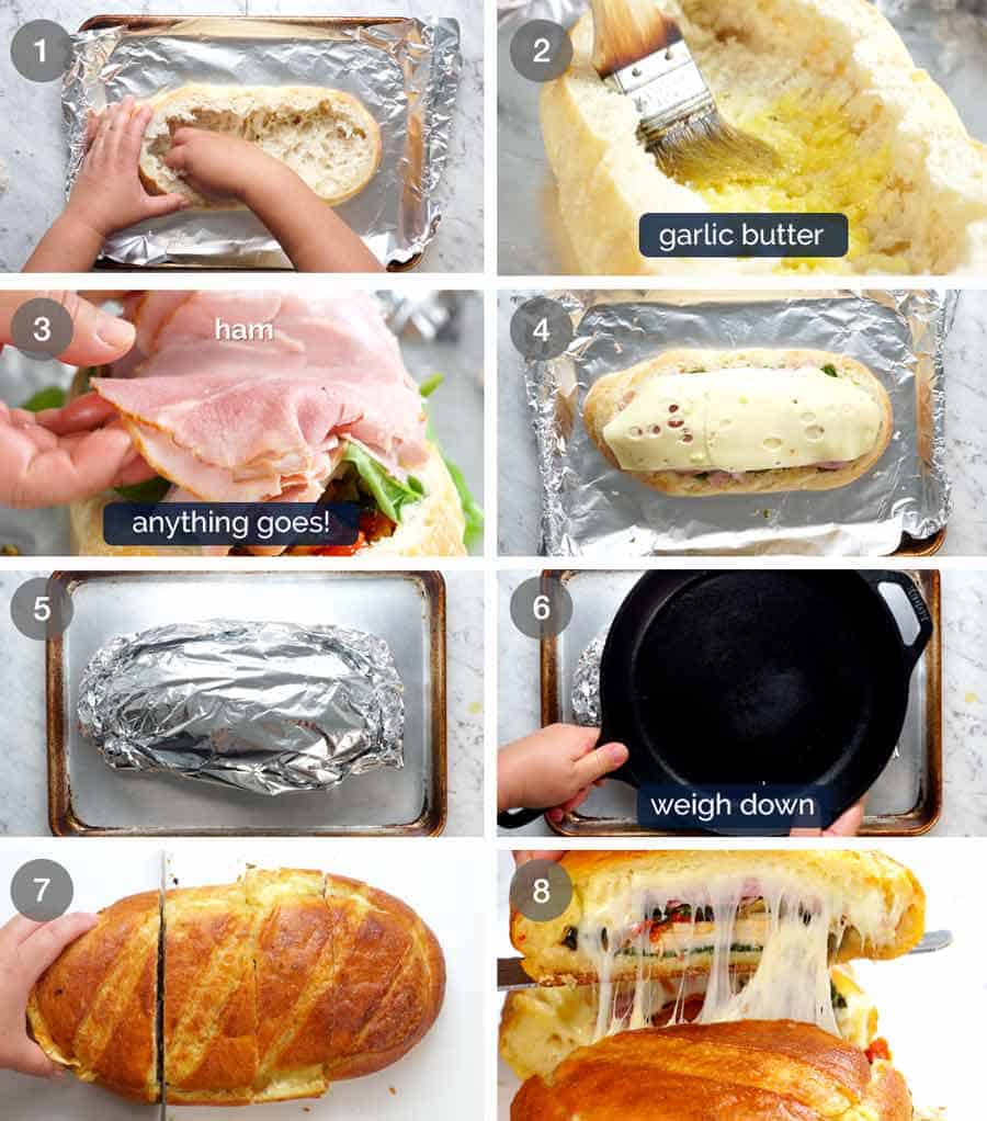 How to make Bread Bowl Sandwich_1
