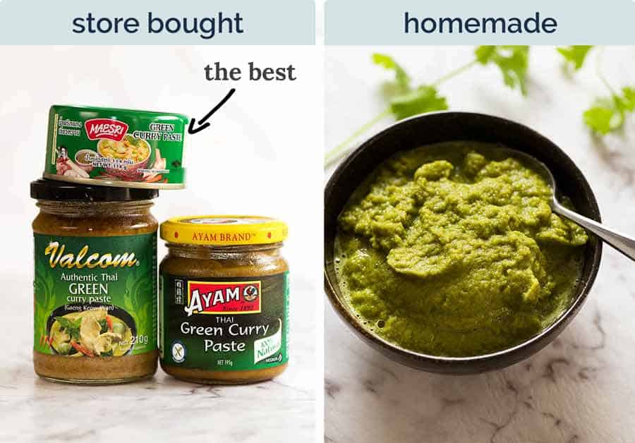 Best Thai Green Curry Paste