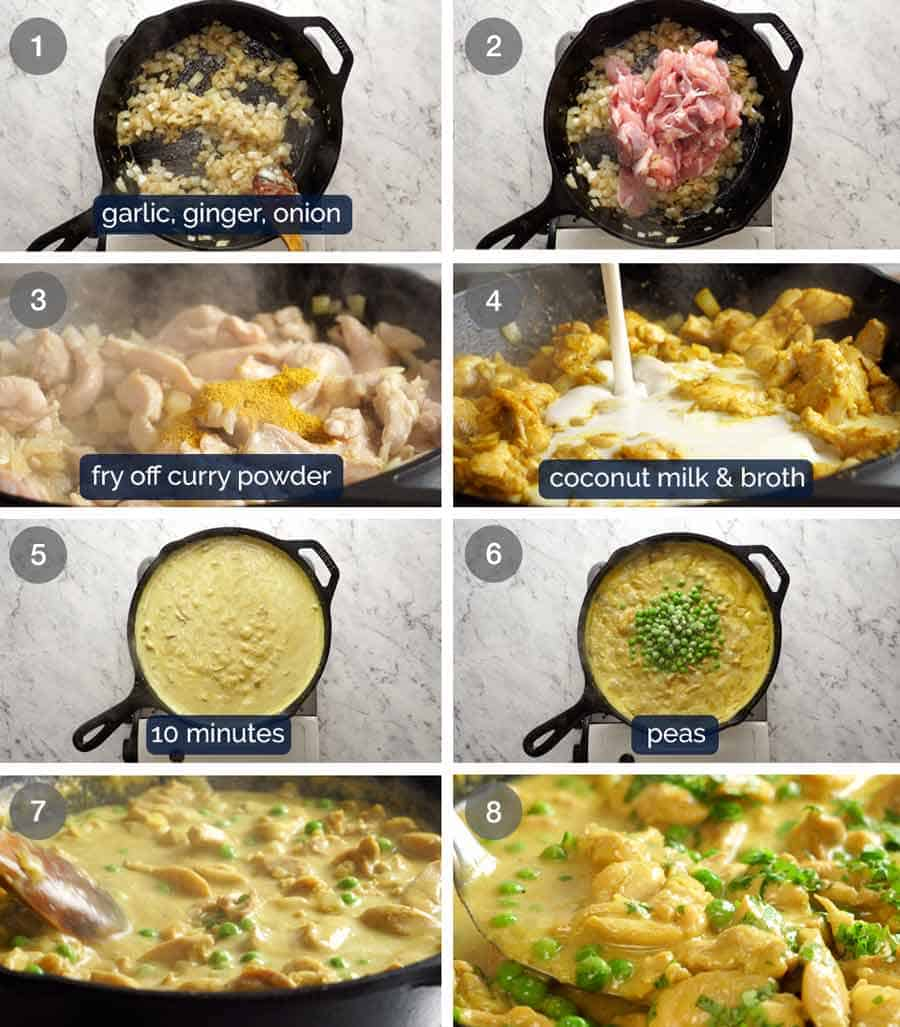 How to make easy Chicken Curry