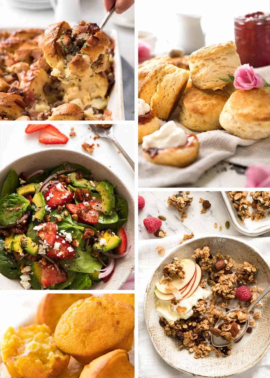 Easy Mother's Day Brunch Menu