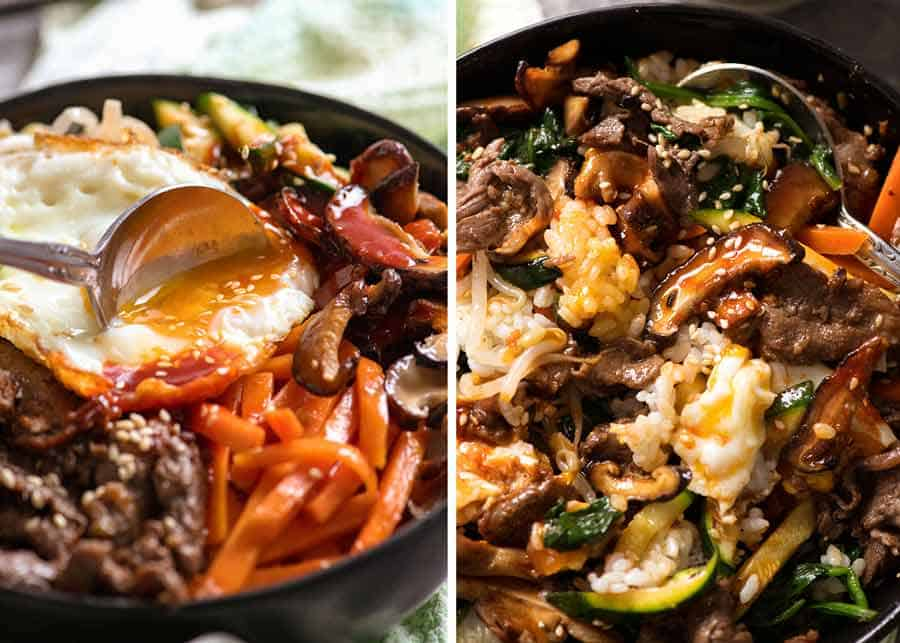 How to eat Bibimbap