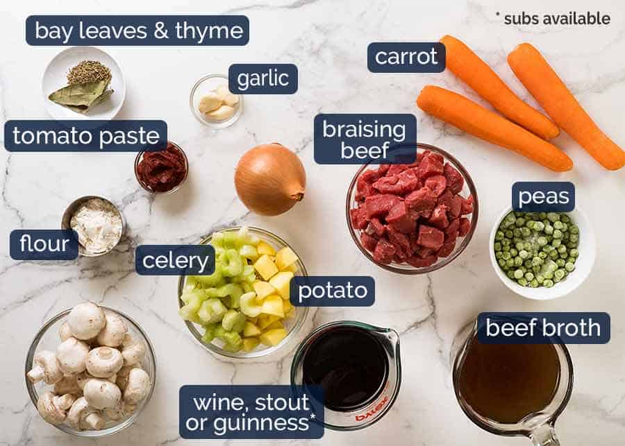 Vegetable Beef Soup ingredients