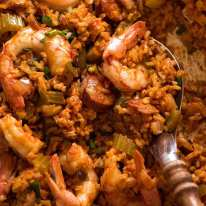 Close up of Jambalaya