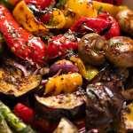 Marinated BBQ Vegetables (grilled vegetables)