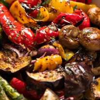Marinated BBQ Vegetables (grilled vegetables)