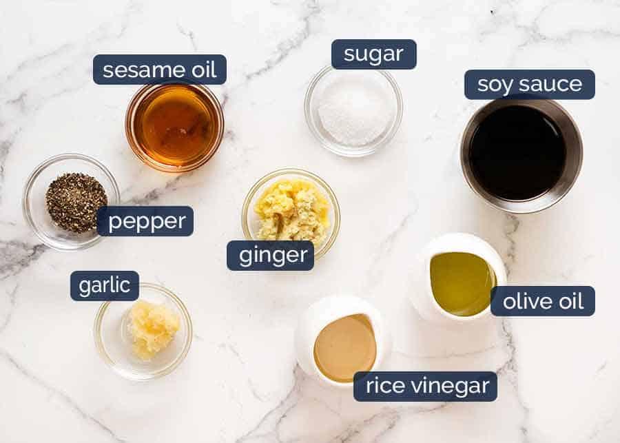 Salmon Salad Dressing ingredients