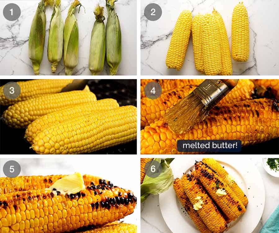 How to make Grilled Corn