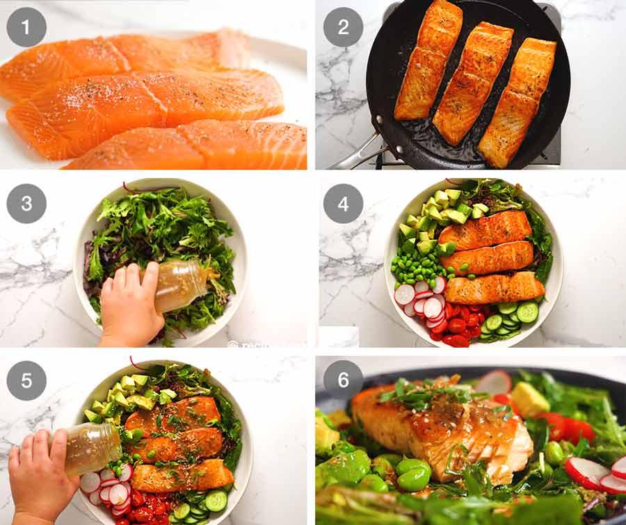 How to make salmon salad