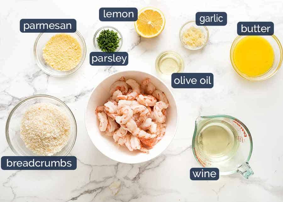 What you need to cook shrimp in the oven
