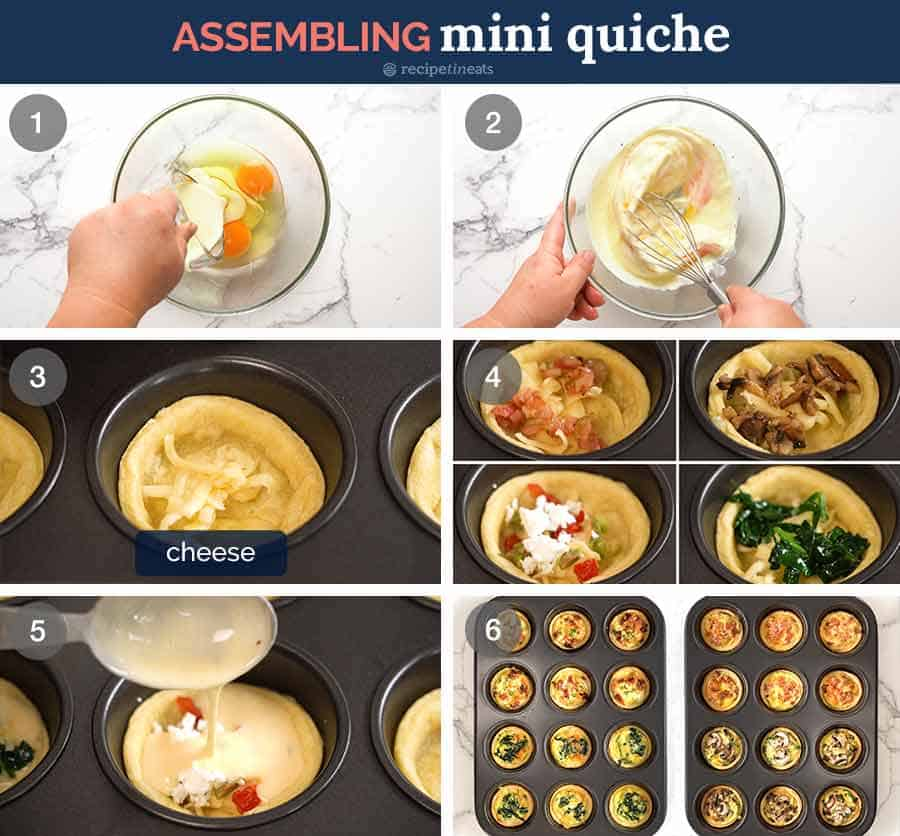 How to make Mini Quiche