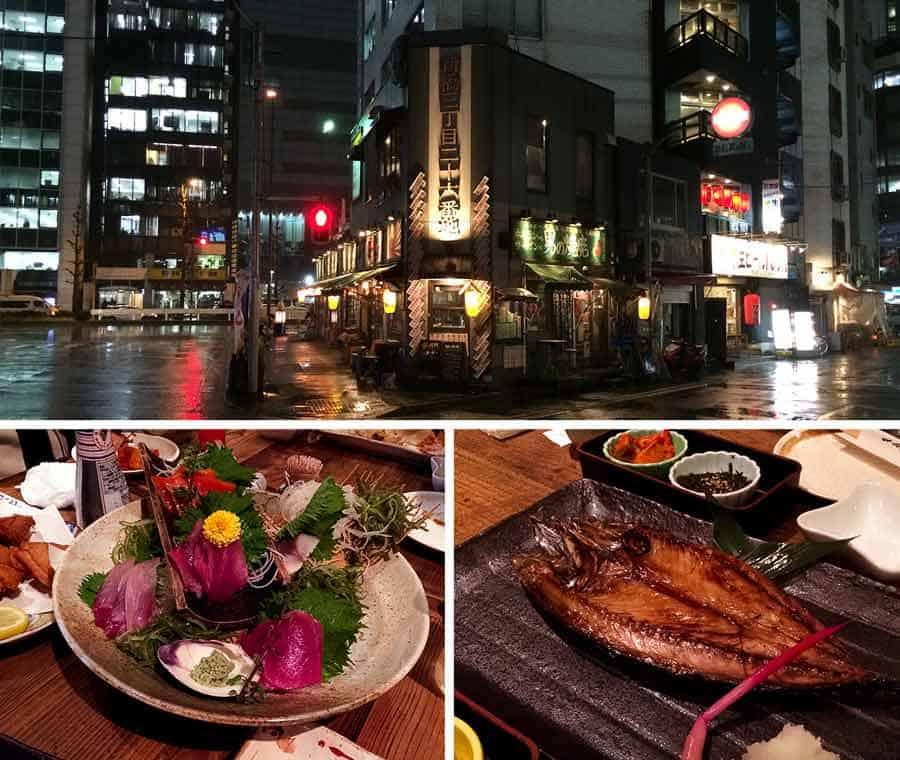 Ginza Shimbashi Robataya seafood Izakaya