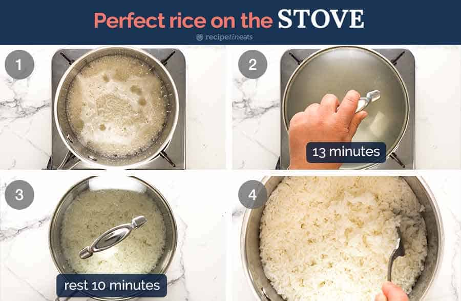 How to cook rice perfectly on the stove (NO RINSING!)