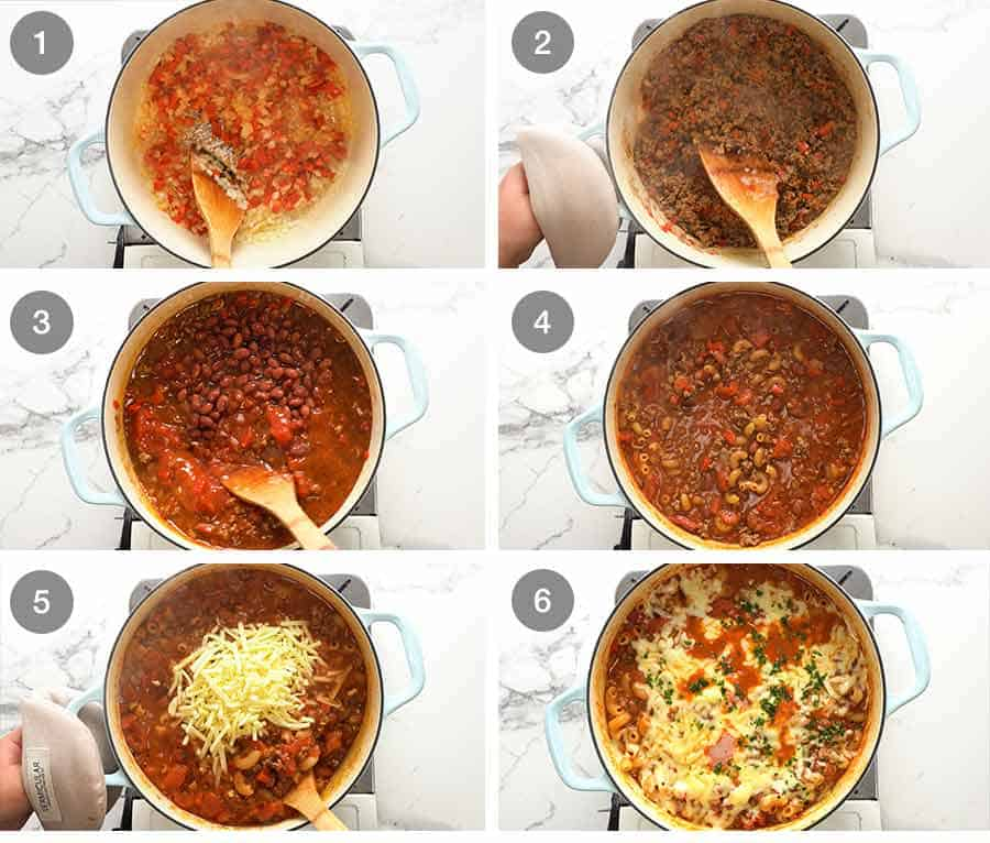 How to make Chili Mac and Cheese