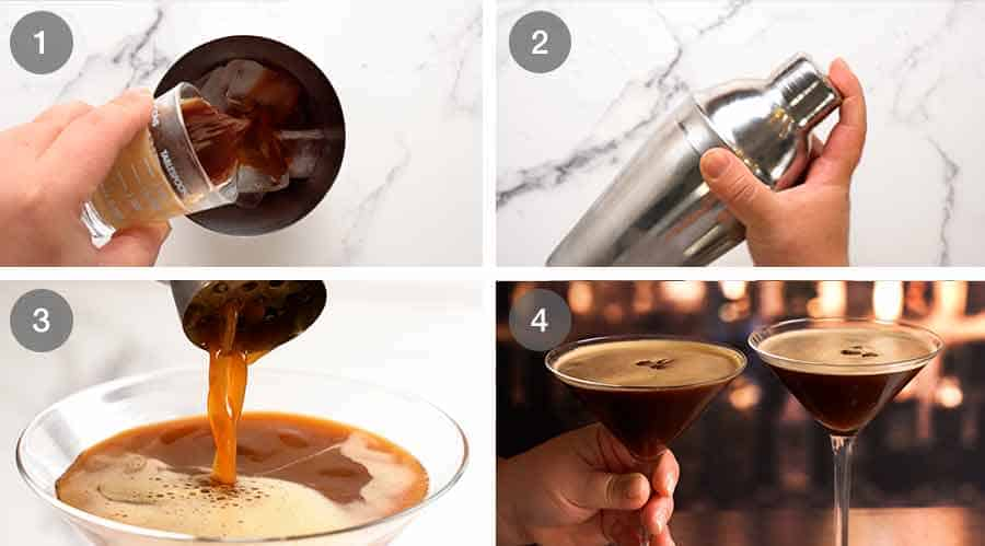 How to make an Espresso Martini