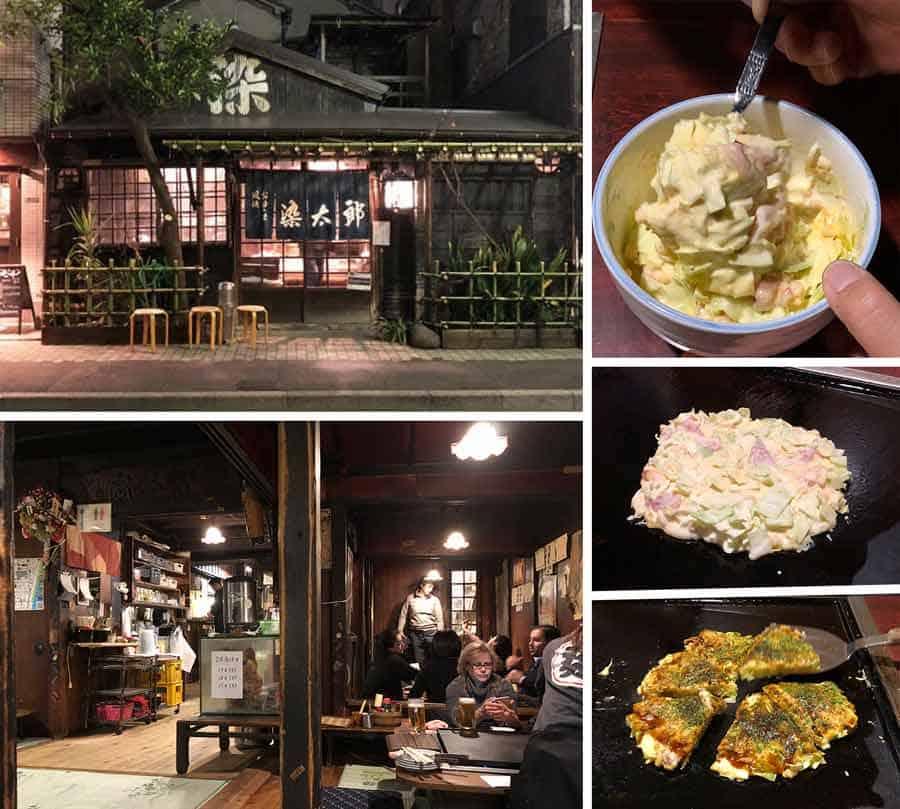 Sometaro - Okonomiyaki in Asakusa