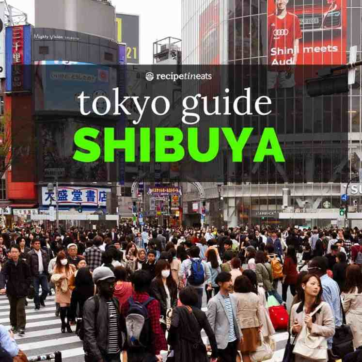 Shibuya Tokyo famous pedestrian crossing